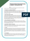 Diez Recomendaciones Fundamentales Para Niños y Adolescentes