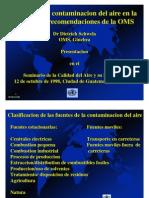 Efectos de La Contaminacion Del Aire en La Salud