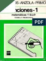 Funciones 1 Matematicas 1 Bup Teoria Problemas