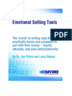 Emotional Selling Tools