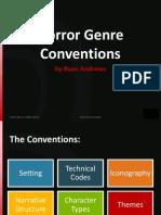 Horror Genre Conventions