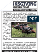 Turkey-Friendly Thanksgiving