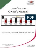 Dream Vacuum Manual for Central Vacuum System