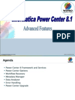 Informatica 8.1 -Advanced Features Training v1