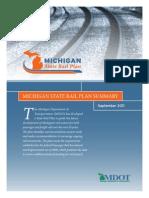 Michigan State Rail Plan Executive Summary