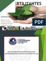 Fertilizantes (Grupo 10)
