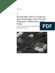 Petrographic Analysis of Igneous