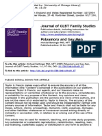 Polyamory and Gay Men- A Family Systems Approach