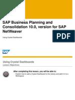 BPCNW10 Using Crystal Dashboards
