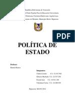 Politica Yalitza- 116,ºº