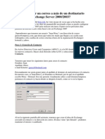 Cómo Redirigir Un Correo a Más de Un Destinatario Externo Con Exchange Server 2000