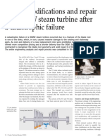 Design m Odifications and Repair of a 90 Mw Steam Turbine Sultzer 17 Jun