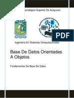 Portada Inv Bases de Datos Orientadas a Objetos
