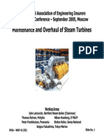 Maintenance of Steam Turbines 17 JUN