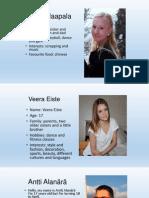 finnish students profiles