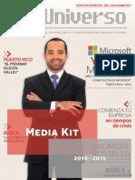Media Kit de DigiUniverso 2014 Español