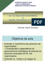 Plan Est G de Pessoas ARH UFPA