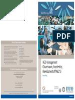 NGO Management Flyer