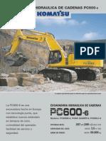 Pc600-6 - Komatsu