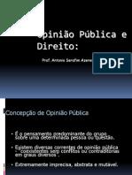 Opinião Pública e Direito
