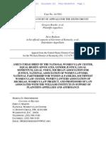 Women's Law Center, et al. Amicus Brief