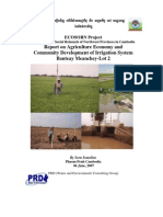 Agriculture Economy and Community Development Report
