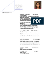 andrea villarreal resume 2014