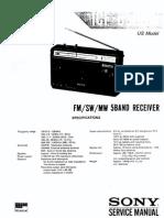 Sony ICF-6500W Serv Reduced