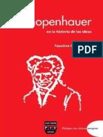Schopenhauer en La Historia de Las Ideas - Oncina Coves, Faustino (Ed.)