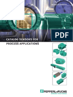 Catalogo de Sensores de Prox P and F
