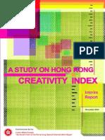 Creativity Index Hong Kong