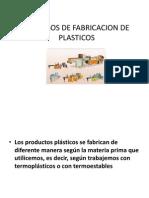 Procesos de Fabricación de Plasticos