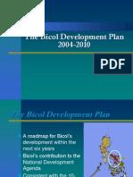The Bicol Development Plan