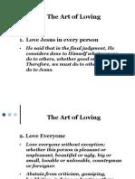 Art of Loving 8-Points Version