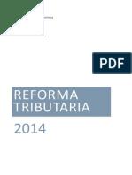 Reforma Tributaria 2014 Economia