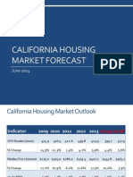 California Housing Market Forecast, June 2014