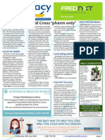 Pharmacy Daily for Wed 18 Jun 2014 - Gold Cross 'pharm only', Fred NXT live test, Student Biz 1/4 finalists, Health, Beauty and New Products and much more
