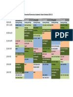 academic schedule gl 2014 sheet1