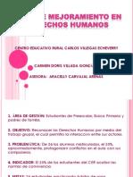 Plan de Mejoramiento - Cer Carlos Villegas