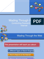 wading through the websesson1