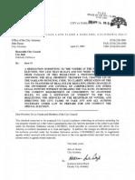 Resolution 81926 Supplemental Report
