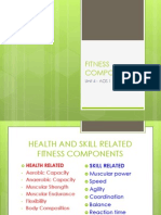 fitness components updated