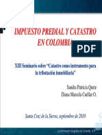 Impuesto Predial Catastro Colombia