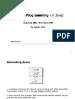 Socket Programming (in Java)
