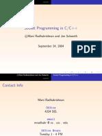 Socket Programming in C,C++