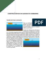 CONSTRUCCIÓN GASODUCTO SUBMARINO