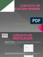 Circuito de Ventilacion Minera