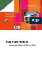 Pre-CLADE v - Este Es Mi Pueblo - Voces Evangélicas de Buenos Aires