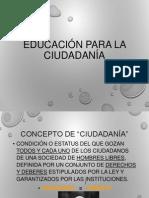 Educacion Para La Ciudadania Introduccion 12062014