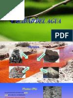 Metales Pesados en El Aguaa